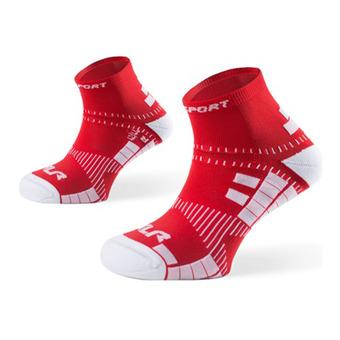 Calcetines de running XLR rojo