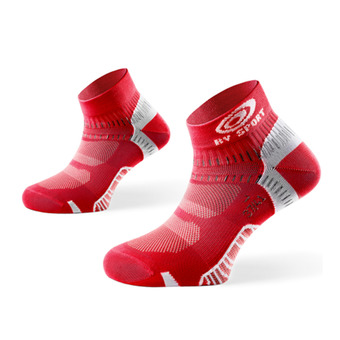 Pack de 3 pares de calcetines LIGHT ONE rojo