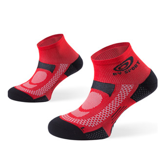 Calcetines tobilleros SCR ONE rojo