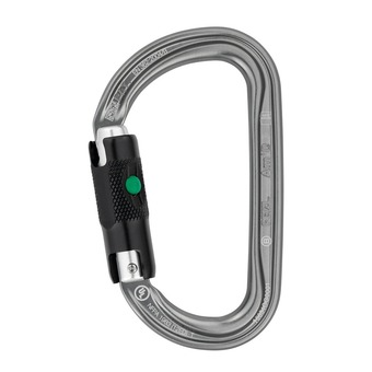Petzl AM'D BALL-LOCK - Mosquetón grey acier