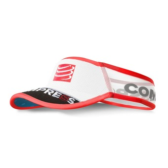 Compressport ULTRALIGHT - Visière white