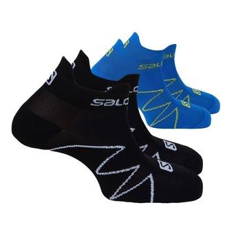 Lot de 2 paires de chaussettes XA SONIC black/union blue