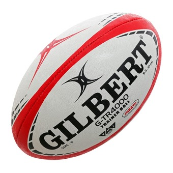 Gilbert G-TR4000 - Ballon rugby rouge