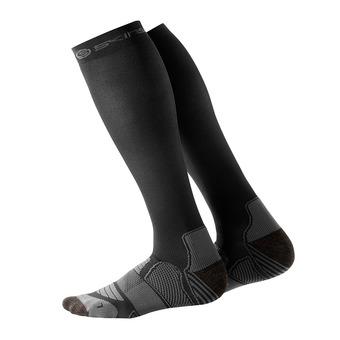 Calcetines de compresión hombre ESSENTIALS black/pewter
