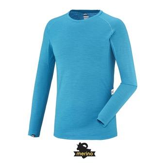 Camiseta térmica hombre C WOOL BLEND 150 electric blue