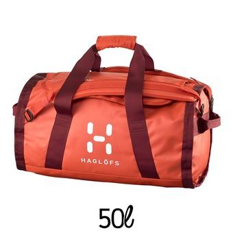 Bolsa de deporte 50L LAVA habanero/dark ruby