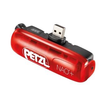 Batería recargable para linterna frontal NAO®+ rojo