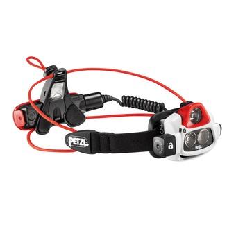 Petzl NAO+ - Lampada frontale bianco/rosso/nero