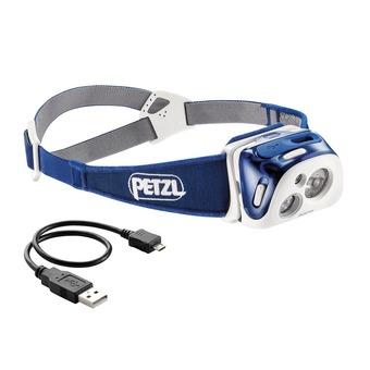 Petzl REACTIK - Lampe frontale bleu