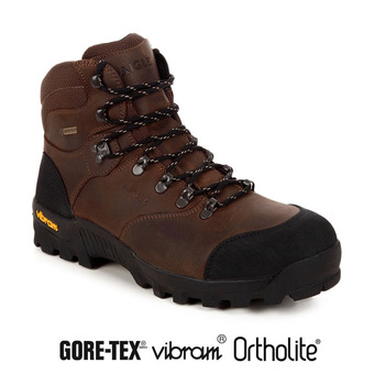 2caa1f04e6d473 Chaussures de randonnée homme ALTAVIO GTX MID sepia - Private Sport Shop
