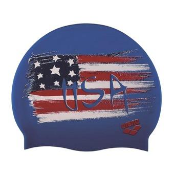 Gorro de natación PRINT 2 flag USA