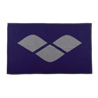 Serviette éponge HICCUP navy/grey