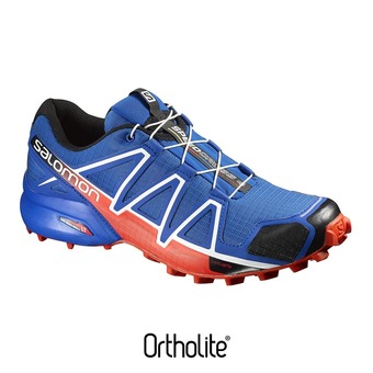 Zapatillas trail hombre SPEEDCROSS 4  blue yonde/black/lava or