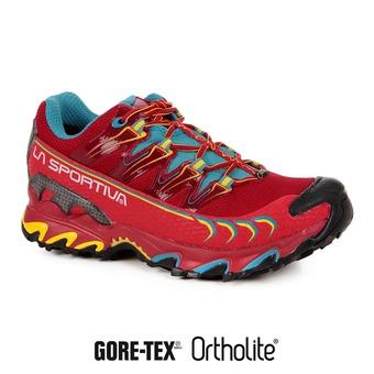 Zapatillas de trail mujer ULTRA RAPTOR GTX berry