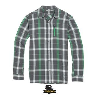 Camisa hombre COMPASS metal/balsam