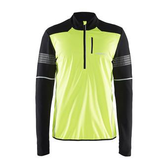Camiseta hombre BRILLANT 2.0 flumino/negro