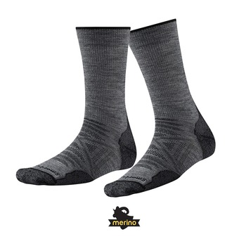 Chaussettes PHD OUTDOOR LIGHT CREW medium gray