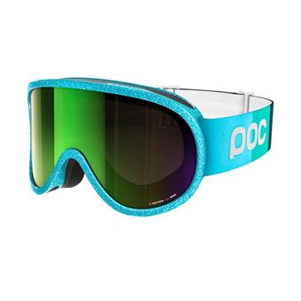 Gafas de esquí RETINA JULIA MANCUSO julia blue/persimmon-green mirror