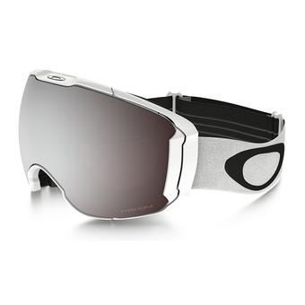 Oakley AIRBRAKE XL - Gafas de esquí polished white/prizm black iridium/prizm hi pink iridium