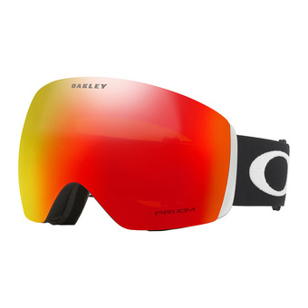 Oakley FLIGHT DECK - Gafas de esquí matte black/prizm torch iridium