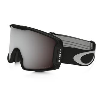 Oakley LINE MINER - Gafas de esquí matte black/prizm black iridium