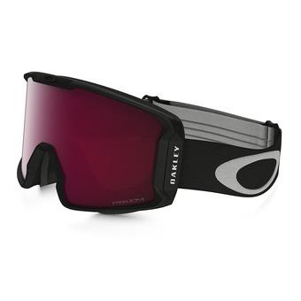 Oakley LINE MINER - Gafas de esquí matte black/prizm pink