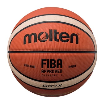 Balón de baloncesto GGX naranja/marfil