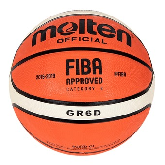Ballon de basket GRD orange/ivoire