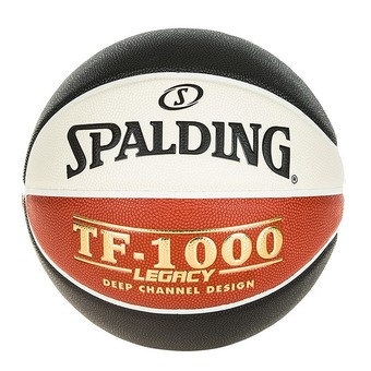 Spalding LNB TF 1000 LEGACY - Ballon basket orange/noir/blanc