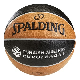Spalding EUROLEAGUE TF 1000 LEGACY - Balón de baloncesto naranja/negro