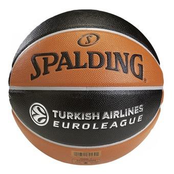 Spalding EUROLEAGUE TF 500 - Balón de baloncesto naranja/negro