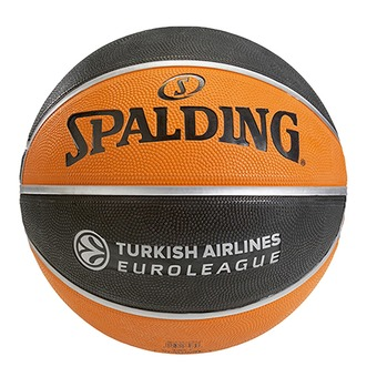 Balón EUROLEAGUE TF 150 naranja/negro