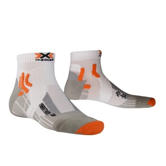 Calcetines de running RUN MARATHON white