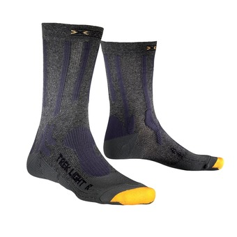 Calcetines de senderismo TREK LIGHT anthracite