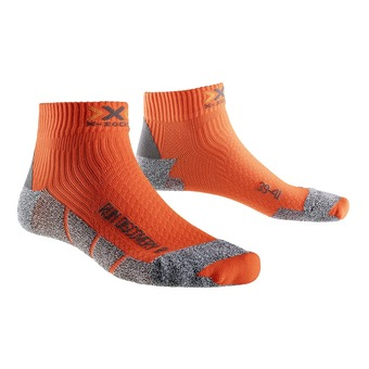 Calcetines de running DISCOVERY 2.1 orange sunshine / black