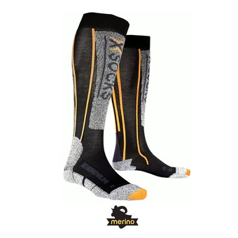 X-Socks ADRENALINE - Chaussettes black/orange