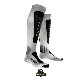 X-Socks SKI METAL - Calcetines silver/anthracite