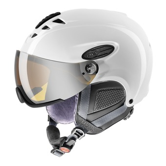 Uvex HLMT 300 VISOR - Casco de esquí white