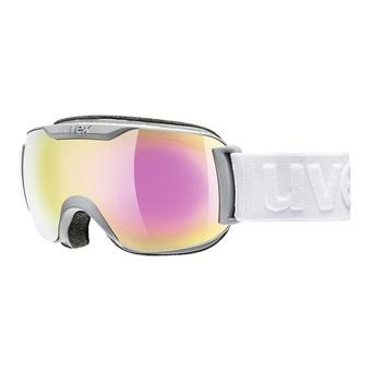 Gafas de esquí DOWNHILL 2000 S FM coal mat/mirror pink clear