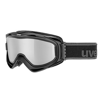 Masque de ski G.GL 300 TO black mat/mirror silver-lasergold lite clear