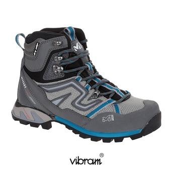 Zapatillas de senderismo mujer HIGH ROUTE MESH aqua/dark grey