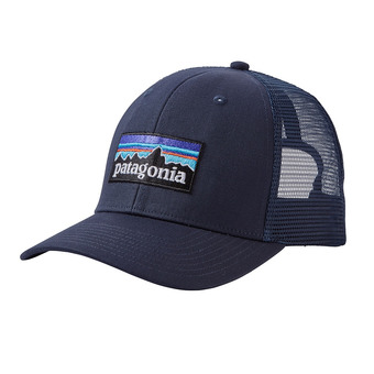 Patagonia P-6 LOGO - Casquette navy blue w/navy blue