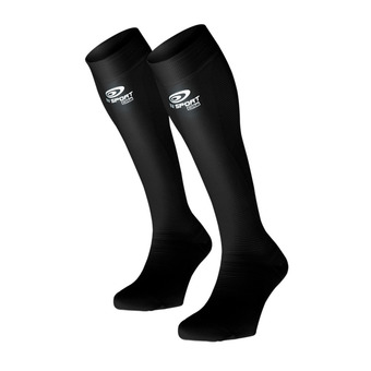 Bv Sport PRORECUP ELITE EVO - Chaussettes noir/blanc