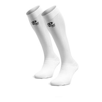 Bv Sport PRORECUP ELITE EVO - Chaussettes blanc/noir