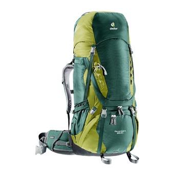 Mochila 65+10L AIR CONTACT verde bosque/espuma