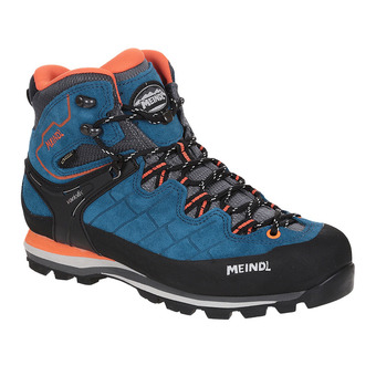 Meindl LITEPEAK GTX - Chaussures randonnée Homme bleu/orange