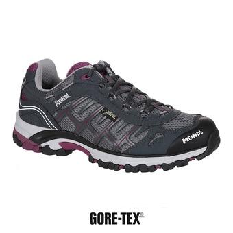 Meindl CUBA GTX - Chaussures trail Femme graphite/violet