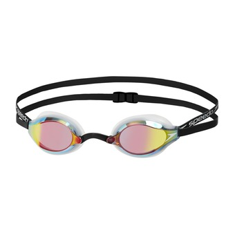 Speedo FASTSKIN SPEEDOSOCKET MIRROR - Swimming Goggles - white