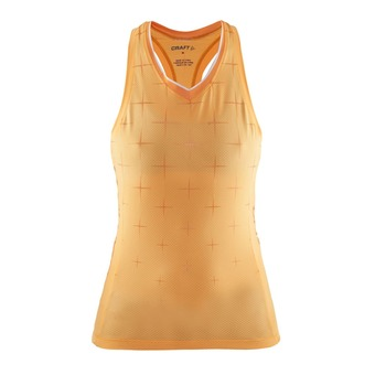 Craft BELLE GLOW - Camiseta de tirantes mujer sprint/white