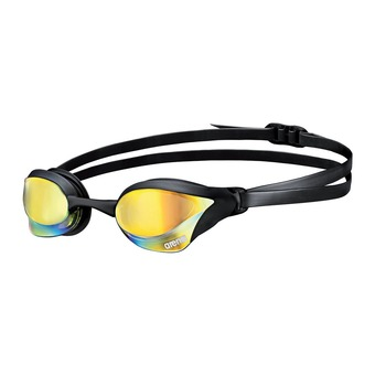 Gafas de natación COBRA CORE MIRROR yellow/revo black